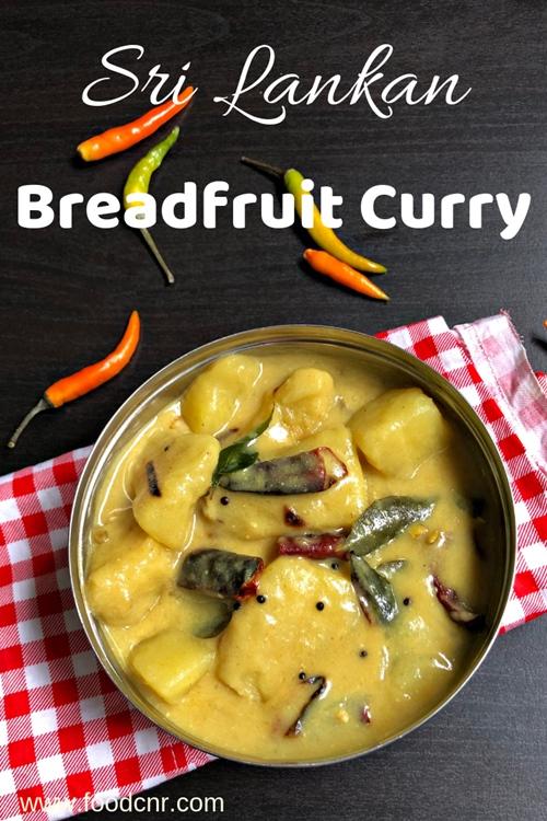 Sri Lankan breadfruit curry