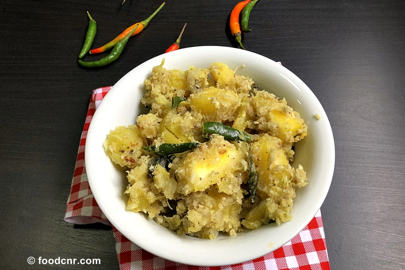Manioc recipe with grated coconut