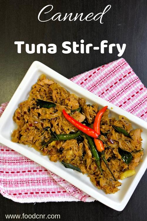 Canned Tuna Stir Fry