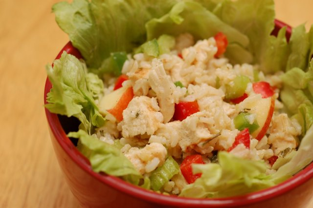 chicken and rice salad recipes