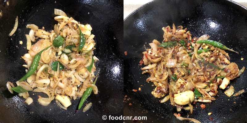 Sri Lankan Canned Tuna stir fry Recipe