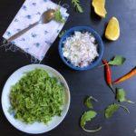 Sri Lankan Style Arugula Sambola (Arugula Salad)