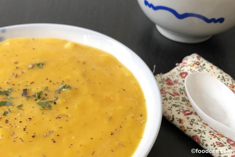 Thai Spiced Pumpkin Soup recipe