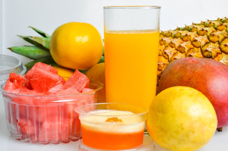 Health Benefits of Blended Fruit Juice