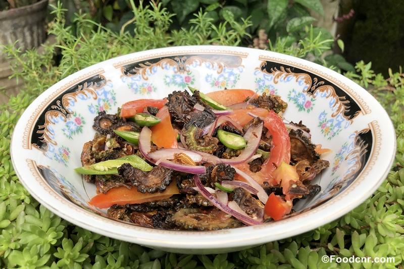 Sri Lankan Bitter Gourd salad