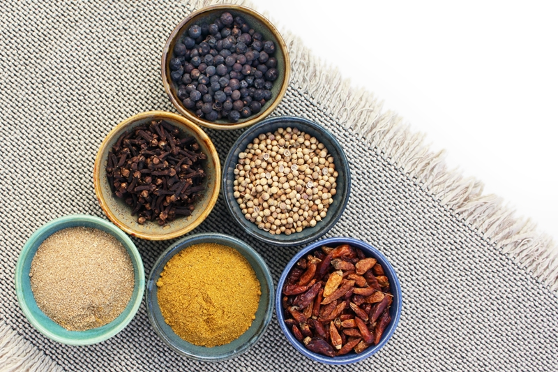 Spices for Sri Lankan Indian cuisines