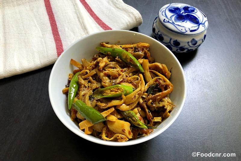 Sri Lankan Mushroom Stir-Fry Recipe