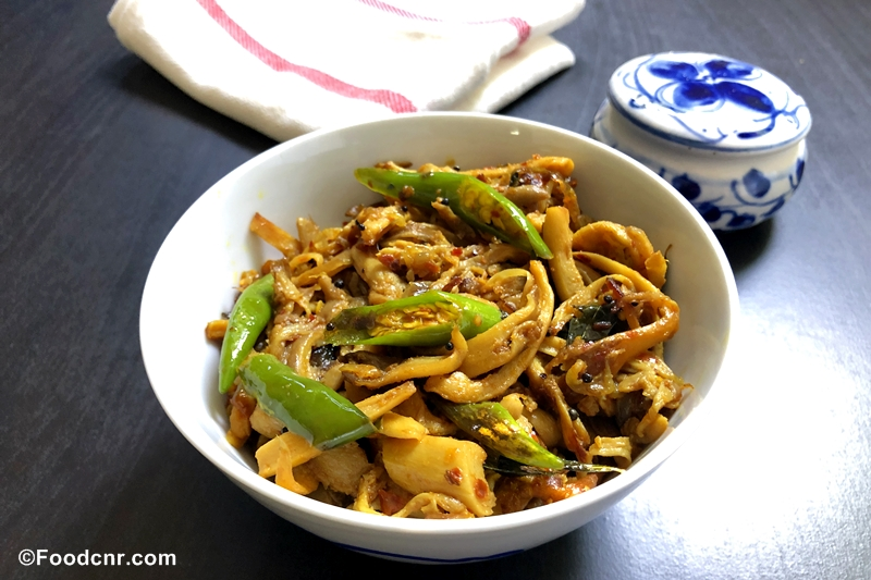 Oyster Mushroom Stir-Fry Recipe