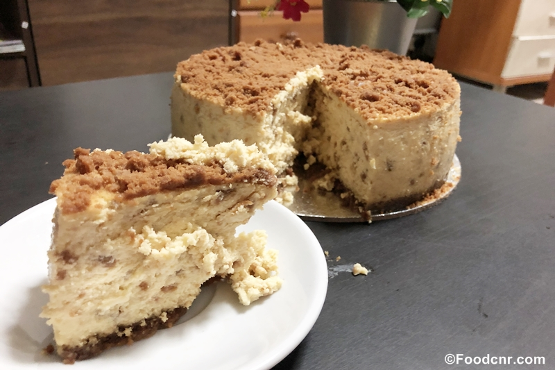 Biscoff cheese cake Singapore